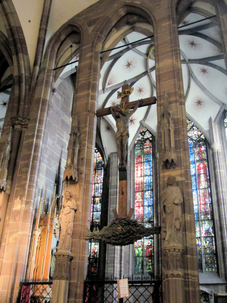 Inside Strasbourg Cathedral Green And Pleasant Land