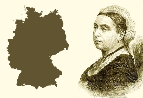 Germany looks like Queen Victoria